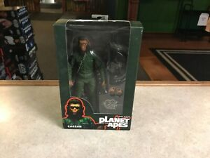 """2015 NECA Planet of the Apes CAESAR SDCC Exclusive 7"""" Inch Figure MOC"""