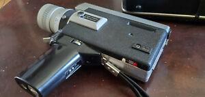 Canon Auto Zoom 518 Super 8 Film Camera with case, Working, Good Condition