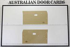 Datsun 1200, B110, B120 Ute, Sedan, Wagon Door Cards. Blank Trim Panels.