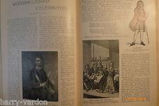 Gipsy King Coronation Little Egypt Charles Faa Blythe Gypsy Wooden Legs Old 1899