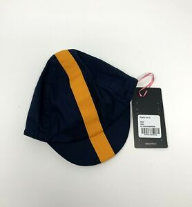 Rapha Cycling Cap S/M Navy Yellow New