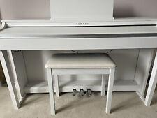 More details for yamaha clavinova clp - 625 piano satin white