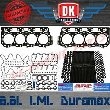 Duramax LML 6.6L - Mahle Complete Full Gasket Set w/ Head Gaskets ARP Studs