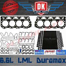 Duramax LML 6.6L - Mahle Complete Full Gasket Set w/ Head Gaskets ARP Studs
