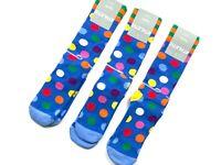 Happy Socks Athletic Big Dot bunte Socks Socken Gr. 41-46 Herren NEU 1 - 6 Paare