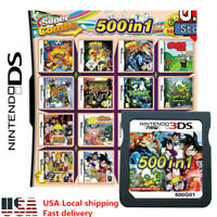 500 in 1 Game Cartridge Multicart For Nintendo1 DS NDS NDSL NDSi1 2DS 3DS