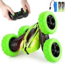 New ListingRemote Control Car Led Headlights 4Wd Rc Stunt Car Double Sided Rotating