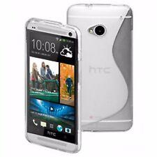 SILICON CASE CUSTODIA MORBIDA IN SILICONE TRASPARENTE per HTC ONE M7