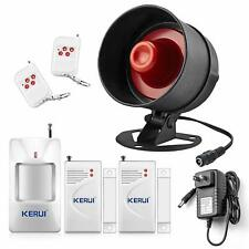 Siren Alarm For Indoor House Apartment Rv Home Security Motion Sensor Wireless