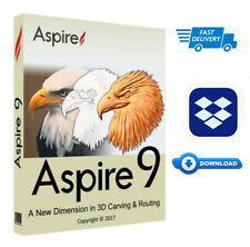 🔥 Vectric Aspire 9.514+🔥 Clip Art Bonus Windows  64 Bit 🔥 (Instant  Download)