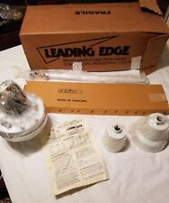 "Leading Edge 56"" Industrial Ceiling Fan White 1 Speed 5600-3"