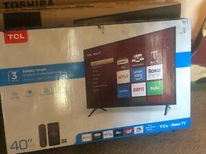 "TCL 40S305 40"" 1080P HD LED Smart TV"
