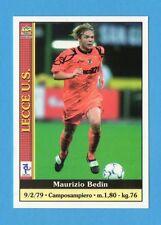 Figurina/CARD-MUNDICROMO CALCIO 2001 n.205- BEDIN - LECCE
