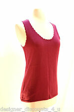 NEW Ladies Caslon By Nordstrom sexy tank top shirt cami shell Sweater size P S