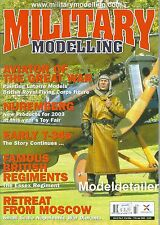Military Modelling Magazine V33 N3 Soviet T-34 Tank Napoleonic War Moscow
