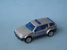 MATCHBOX Sport SUV voiture de police silver corps hero city coffret jouet modèle de voiture