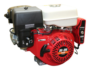 9HP Electric Start OHV Stationary Petrol Engine Horizontal Shaft Saw Bench Pump