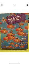 Bepuzzled Impossibles Fish & Chips Puzzle Game 755 Pieces 24 x 24 Complete
