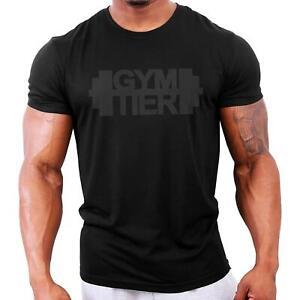 GYMTIER 2018 Stealth Bodybuilding Gym T-Shirt | Workout Top Vest Stringer Train