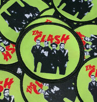 The Clash Patch - Should I stay Or Should I Go London UK punk rock band new wave