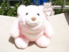 "RARE- VINTAGE GUND - PASTEL PINK - SNUFFLES BEAR- #2170 - 9 1/2""- 1980- ALL TAGS"
