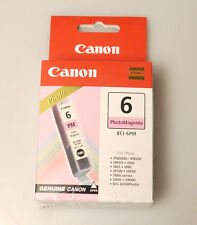 (PRL) CANON BCI-6PM PHOTO MAGENTA CARTUCCIA INCHIOSTRO ORIGINAL INK CARTRIDGE