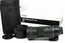 Sigma 150-600mm f/5-6.3 DG OS HSM 'C' Contemporary Lens for Nikon F