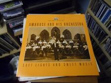 AMBROSE AND HIS ORCHESTRA  SOFT LIGHTS AND SWEET MUSIC