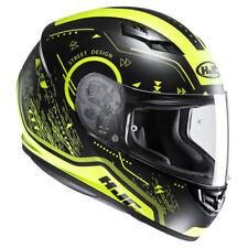 HJC Cs-15 Safa Full Face Motorbike Motorcycle Crash Helmet Lid - Fluo Mc4hsf M