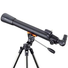 IQCrew 35X-525X 70mm f/10 Refractor Telescope with 2-Section Altazimuth Tripod