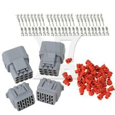 2Set Waterproof 20A 12 Pin Wire Connector Plug Car Auto Connectors Kit