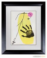 Joan MIRO Color ORIGINAL Lithograph LIMITED Edition 1956 +Custom Archival FRAME