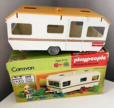 Vintage, Retro 1978 PLAY PEOPLE - PLAYMOBIL: CARAVAN in BOX