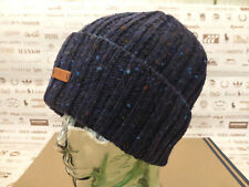 FRED PERRY Beanie DONEGAL Fleck Cable Knit Navy Hat MACKIE Edtion Wool Cap BNWT