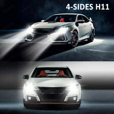 2020 H11 LED Headlight 6000K 2000W 300000LM 4-Side Low Beam bulbs High Power JOY