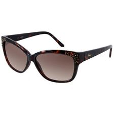 NEW GUESS GU 7140 Brown to -34 Rhinestones Authentic Sunglasses Free Shipping