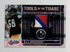2010 Absolute Memorabilia L.C. Greenwood (3 Color Prime GU/50)-Steelers Football