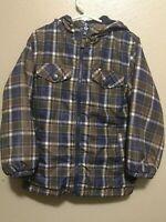 OSHKOSH B'GOSH Reversible Hooded Jacket Boy's 6 - Warm Fleece Side