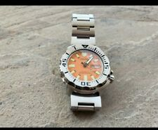 Seiko Orange Monster Wrist Watch for Men first gen, scuba divers watch, 7s26.