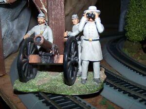 "Very Nice CSA ""Confederate"" Artillery Group - Approx. 3"""