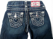 EUC- LOOK NEW- RRP$179 - Kids Stunning True Religion Brand 'BILLY SUPER T' Jeans