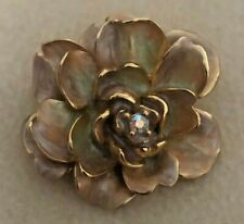Joan Rivers Victorian Cabbage Rose Pin