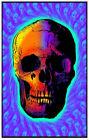 Skull Trip Blacklight Poster 23 x 35 - FLOCKED