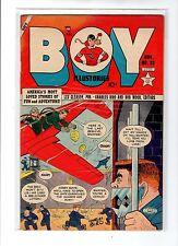 Boy Comics #83 Fn+ Biro, Maurer, Iron Jaw, Crimebuster