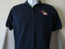 Womens Rare EBAY LIVE 2002 Black Polo Shirt Shirt eBayana Selling Size Medium