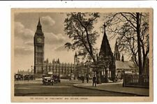 CPA-Carte Postale-Royaume Uni-London - Houses of Parliament and Big Ben -1922