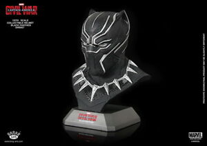 King Arts DHS057 Captain America 1/5 Scale Black Panther Helmet