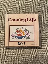 Brother Babylock Bernina Embroidery Machine Memory Card: Country Life No. 7