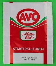 10 g Starterkultur für schnittfeste Rohwurst Salami