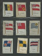 More details for incomplete set 71 godfrey philips silk cigarette cards flags 28th series